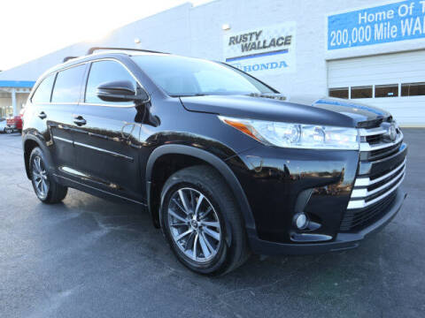 2017 Toyota Highlander for sale at RUSTY WALLACE HONDA in Knoxville TN