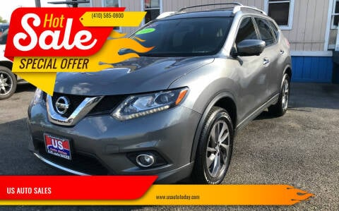 2016 Nissan Rogue for sale at US AUTO SALES in Baltimore MD