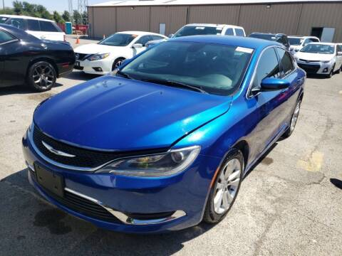 2015 Chrysler 200 for sale at Buy Here Pay Here Lawton.com in Lawton OK
