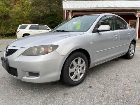 2008 Mazda MAZDA3 for sale at RRR AUTO SALES, INC. in Fairhaven MA