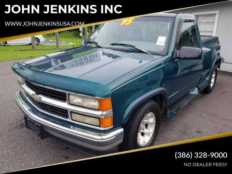 1995 Chevrolet C/K 1500 Series for sale at JOHN JENKINS INC in Palatka FL