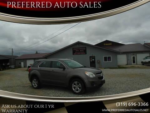 2010 Chevrolet Equinox for sale at PREFERRED AUTO SALES in Lockridge IA