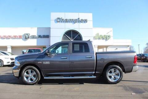 2016 RAM Ram Pickup 1500 for sale at Champion Chevrolet in Athens AL