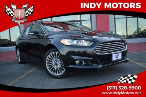 2014 Ford Fusion for sale at Indy Motors Inc in Indianapolis IN