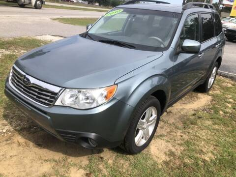2010 Subaru Forester for sale at Auto Cars in Murrells Inlet SC