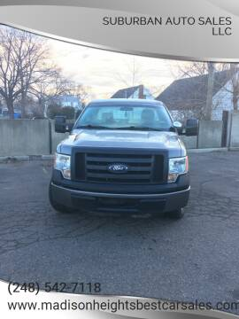 2010 Ford F-150 for sale at Suburban Auto Sales LLC in Madison Heights MI