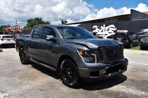 2019 Nissan Titan for sale at AE Of Miami in Miami FL
