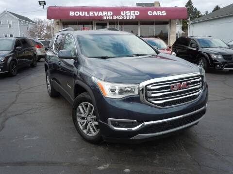 2018 GMC Acadia for sale at Boulevard Used Cars in Grand Haven MI