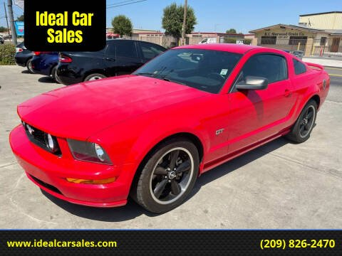 2007 Ford Mustang for sale at Ideal Car Sales in Los Banos CA