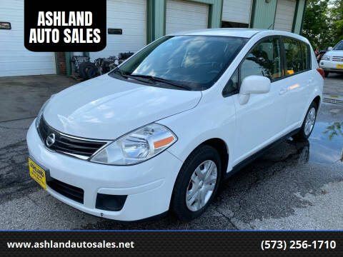 2012 Nissan Versa for sale at ASHLAND AUTO SALES in Columbia MO