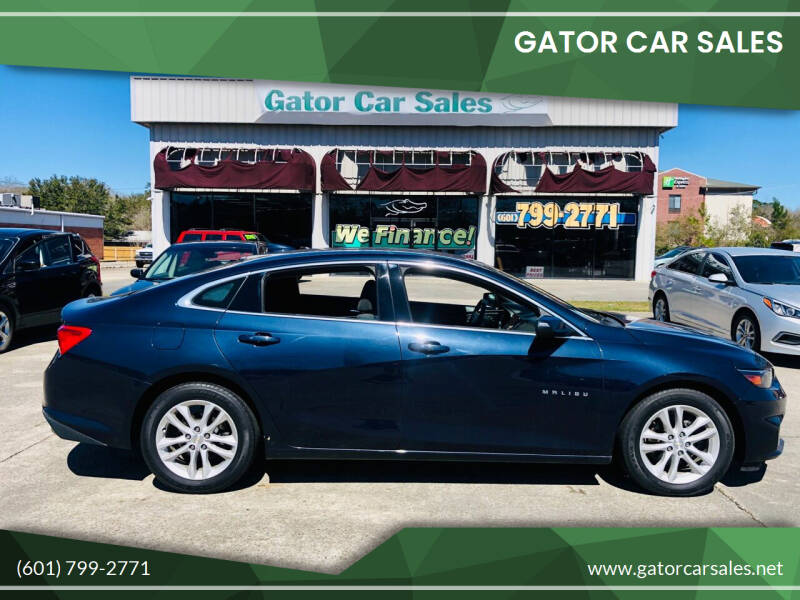 2017 Chevrolet Malibu for sale at Gator Car Sales in Picayune MS
