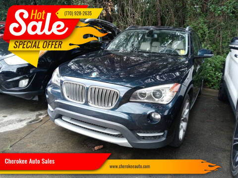 2014 BMW X1 for sale at Cherokee Auto Sales in Acworth GA