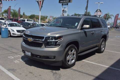 2018 Chevrolet Tahoe for sale at Choice Motors in Merced CA
