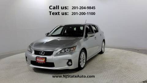 2013 Lexus CT 200h for sale at NJ State Auto Used Cars in Jersey City NJ