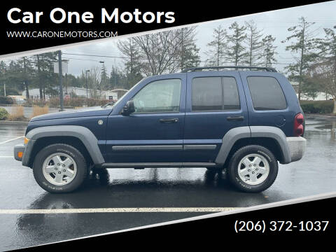 2006 Jeep Liberty for sale at Car One Motors in Seattle WA
