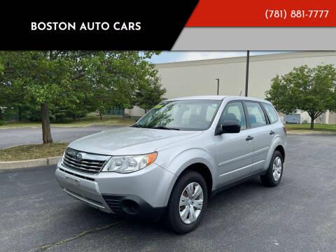 2009 Subaru Forester for sale at Boston Auto Cars in Dedham MA