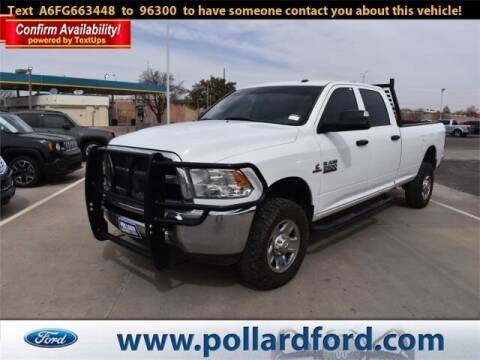 2015 RAM Ram Pickup 2500 for sale at South Plains Autoplex by RANDY BUCHANAN in Lubbock TX