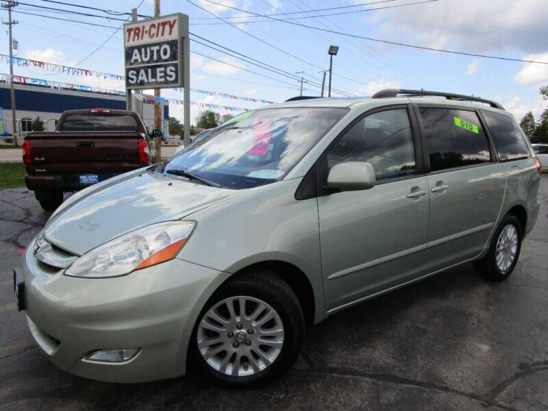 2008 Toyota Sienna for sale at TRI CITY AUTO SALES LLC in Menasha WI