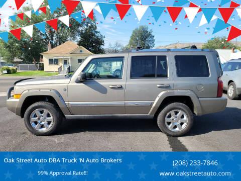 2006 Jeep Commander for sale at Oak Street Auto DBA Truck 'N Auto Brokers in Pocatello ID