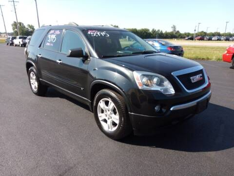 2010 GMC Acadia for sale at Caps Cars Of Taylorville in Taylorville IL