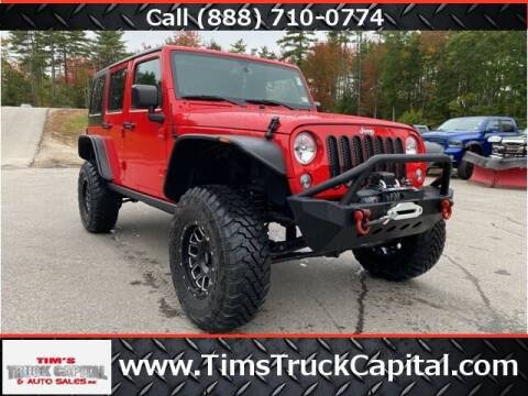 2018 Jeep Wrangler JK Unlimited for sale at TTC AUTO OUTLET/TIM'S TRUCK CAPITAL & AUTO SALES INC ANNEX in Epsom NH