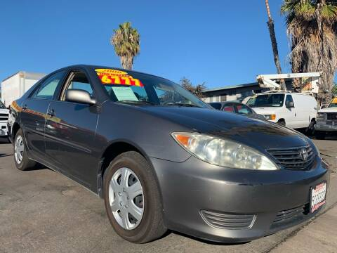 2006 Toyota Camry for sale at CARCO SALES & FINANCE #2 in Chula Vista CA