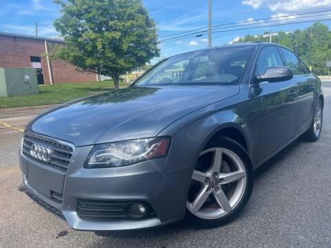 2012 Audi A4 for sale at Gwinnett Luxury Motors in Buford GA