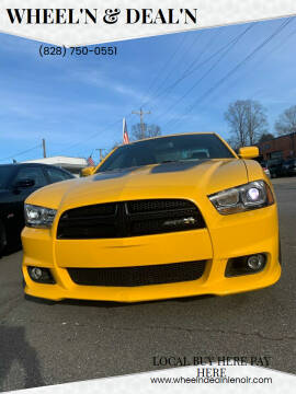 2012 Dodge Charger for sale at Wheel'n & Deal'n in Lenoir NC