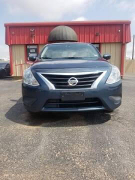 2017 Nissan Versa for sale at MAGNA CUM LAUDE AUTO COMPANY in Lubbock TX