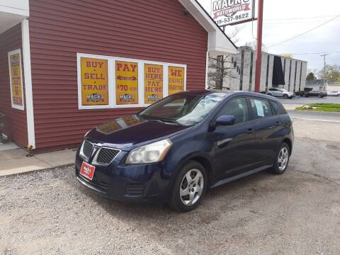 2009 Pontiac Vibe for sale at Mack's Autoworld in Toledo OH