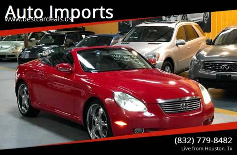2002 Lexus SC 430 for sale at Auto Imports in Houston TX