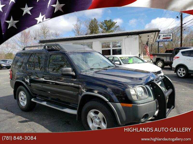 2003 Nissan Xterra for sale at Highlands Auto Gallery in Braintree MA