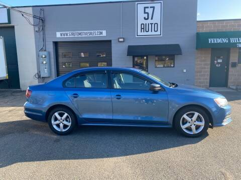 2016 Volkswagen Jetta for sale at 57 AUTO in Feeding Hills MA