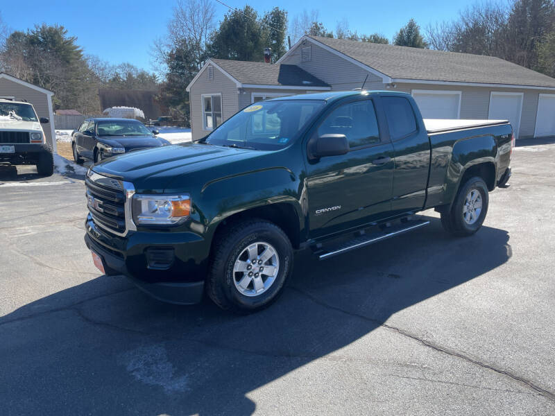 2016 GMC Canyon for sale at Glen's Auto Sales in Fremont NH