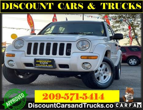2002 Jeep Liberty for sale at Discount Cars & Trucks in Modesto CA
