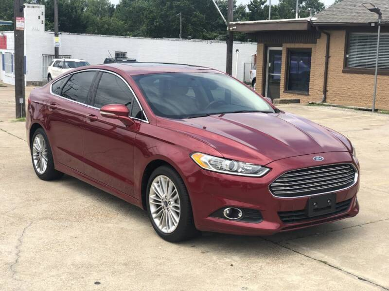 2016 Ford Fusion for sale at Safeen Motors in Garland TX