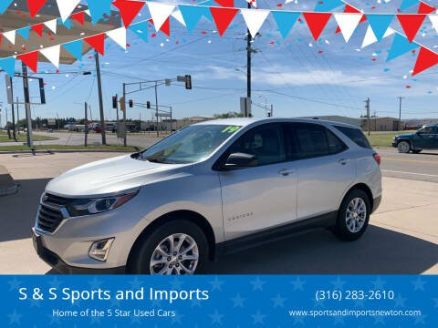 2019 Chevrolet Equinox for sale at S & S Sports and Imports in Newton KS