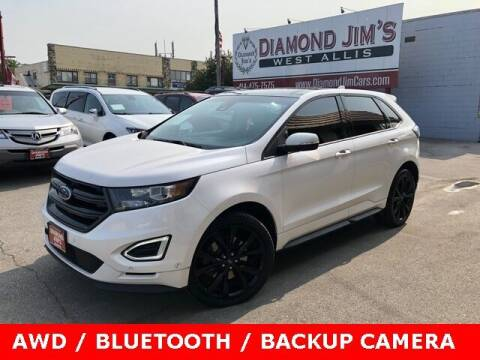 2017 Ford Edge for sale at Diamond Jim's West Allis in West Allis WI