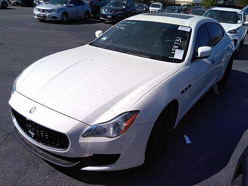 2015 Maserati Quattroporte for sale at Paradise Motor Sports LLC in Lexington KY