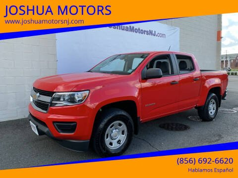 2020 Chevrolet Colorado for sale at JOSHUA MOTORS in Vineland NJ