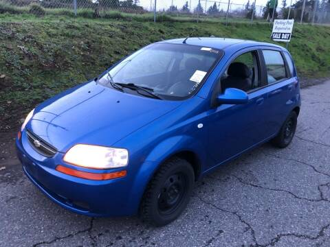 2006 Chevrolet Aveo for sale at Blue Line Auto Group in Portland OR