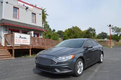 2018 Ford Fusion Hybrid for sale at DrivePanda.com Joliet in Joliet IL