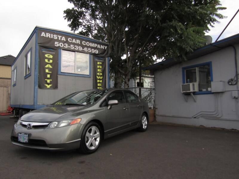 2007 Honda Civic for sale at ARISTA CAR COMPANY LLC in Portland OR