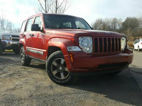 2008 Jeep Liberty for sale at GLOVECARS.COM LLC in Johnstown NY