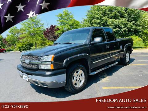 2004 Chevrolet Silverado 1500 for sale at Freedom Auto Sales in Chantilly VA