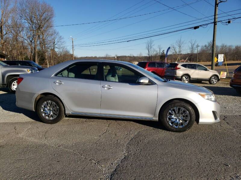 2012 Toyota Camry for sale at 220 Auto Sales in Rocky Mount VA