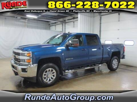 2017 Chevrolet Silverado 2500HD for sale at Runde Chevrolet in East Dubuque IL