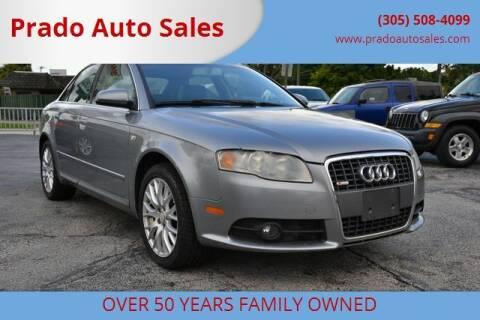 2008 Audi A4 for sale at Prado Auto Sales in Miami FL