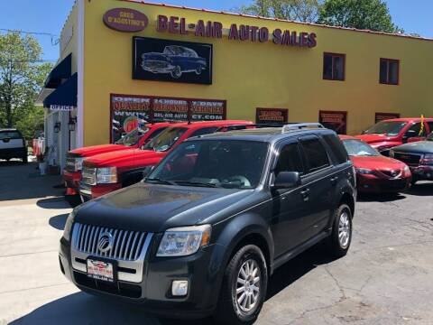 2010 Mercury Mariner for sale at Bel Air Auto Sales in Milford CT