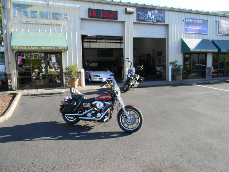 1994 Harley-Davidson Dyna Low Rider for sale at PREMIER MOTORSPORTS in Vancouver WA